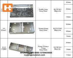 metal jbox parts