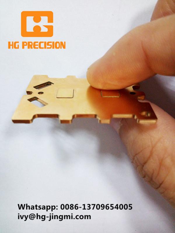 Copper Sheet Metal Component Parts-HG Precision