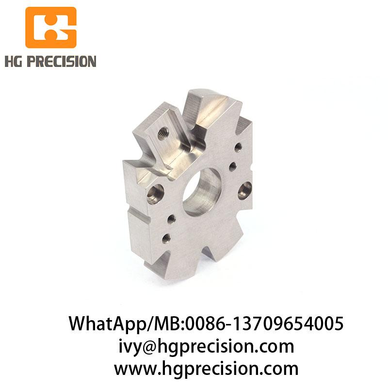 CNC Machinery S45C Block-HG Precision