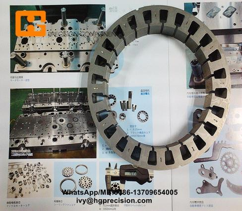 Double Rows Ceilfang Fan Motor  Stator Rotor Progressive Die