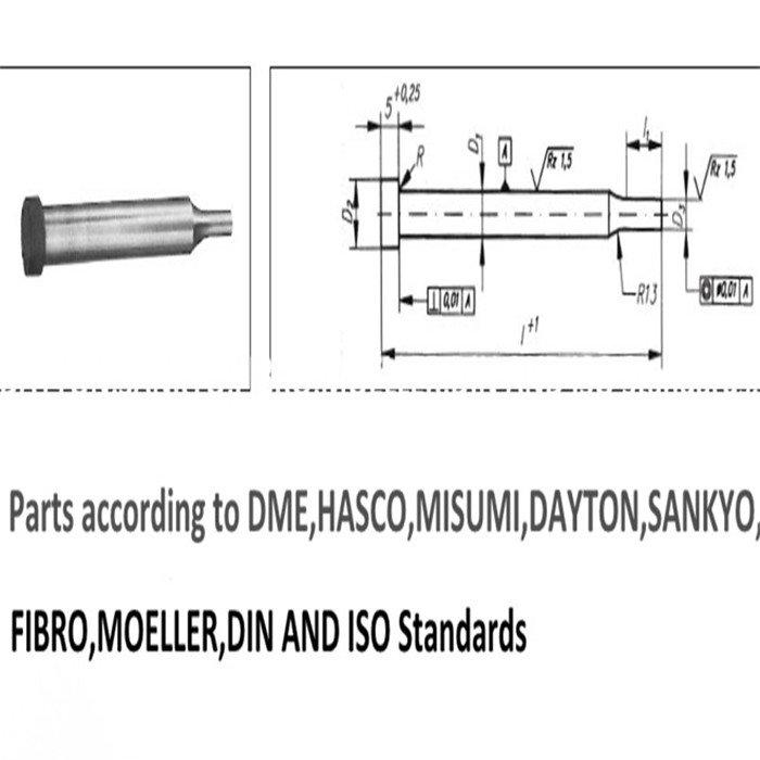 Standard Mould Spare Parts-HG Precision