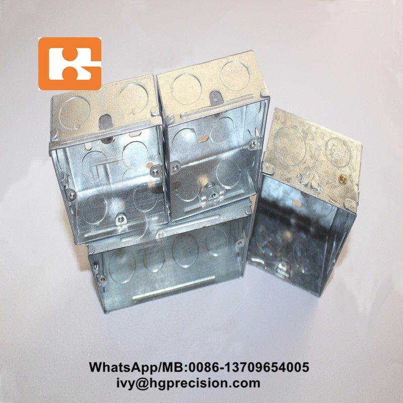 Metal Outlet Electrical Box Progressive Die