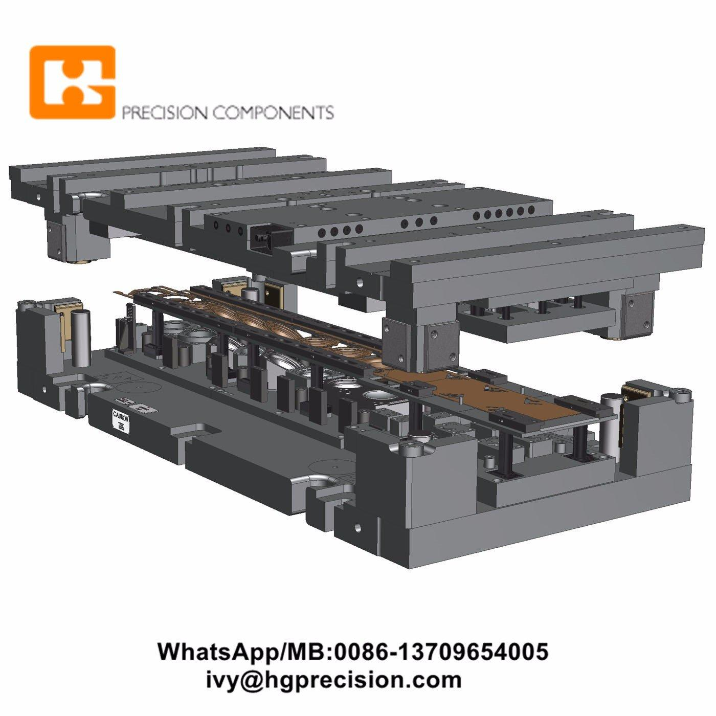 Galvanized Steel Metal Junction Box Stamping Mould