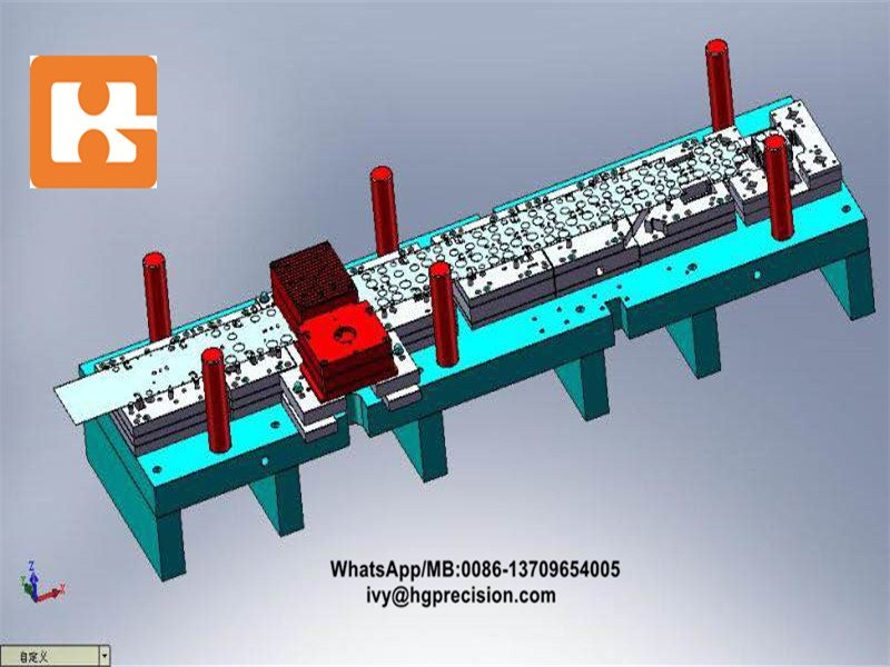 Full-automatic Stamping Die For Junction Box