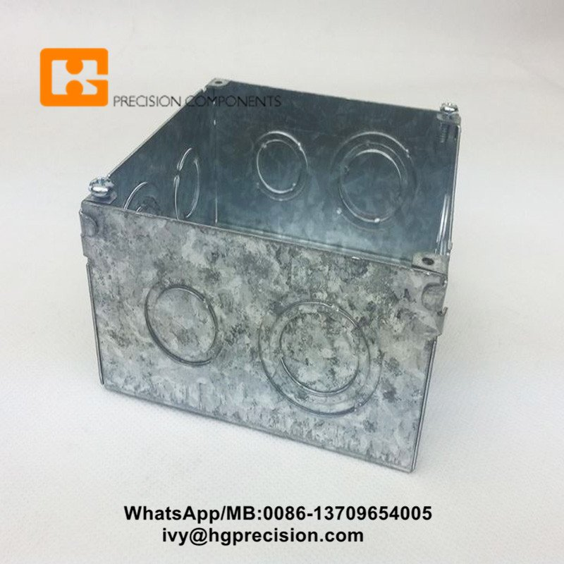 metal junction box progressive die