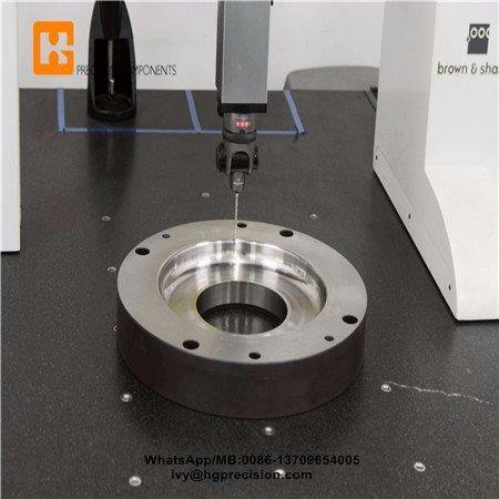 Precision Parts Dimension Inspection