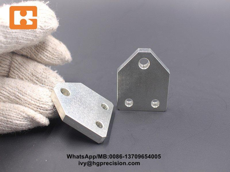 SS400 Zn Plating Precision Machinery Part