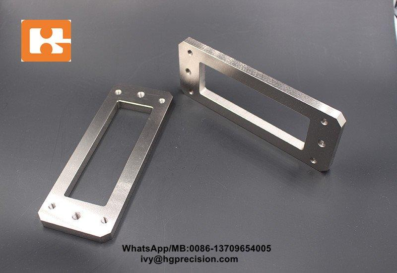 Nickel Plated CNC Steel Spare Part