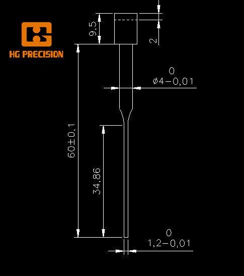 Precision Punch Pin