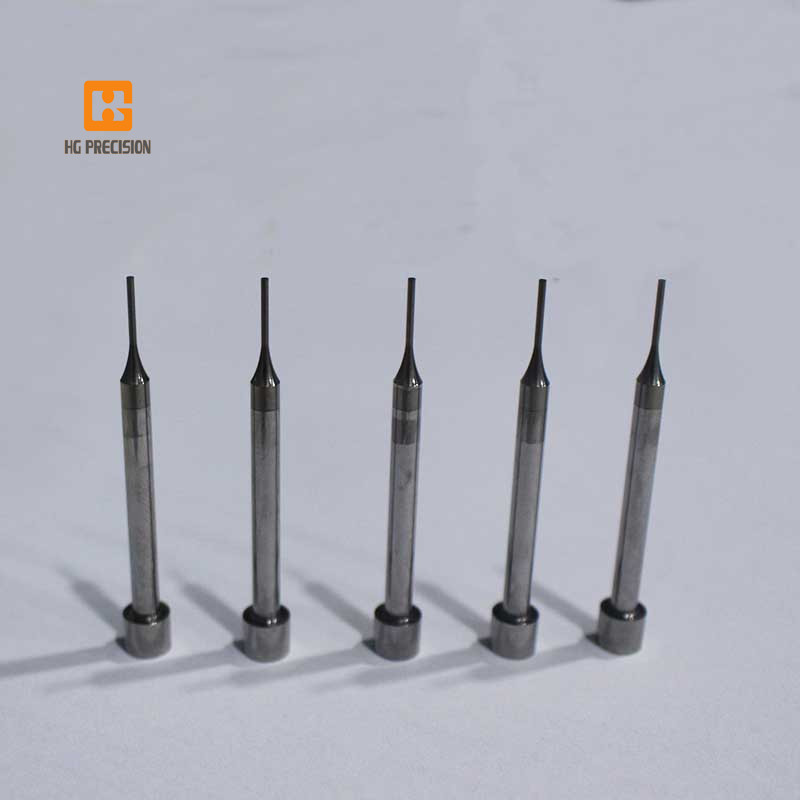 tungsten carbide punch with Ticn-HG Precision