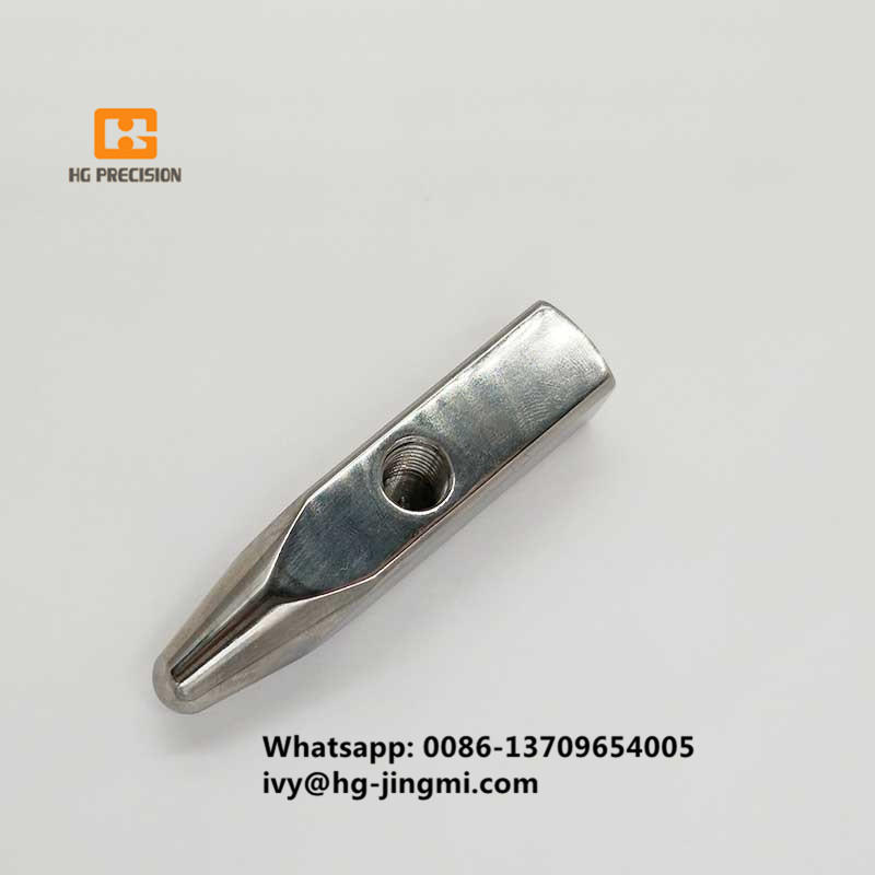Mirror Polishing Titanium Head Parts