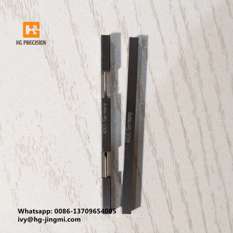 Information Description: Tungsten Carbide High Precision Parts For Foam Block Cutting Machines-HG Precision