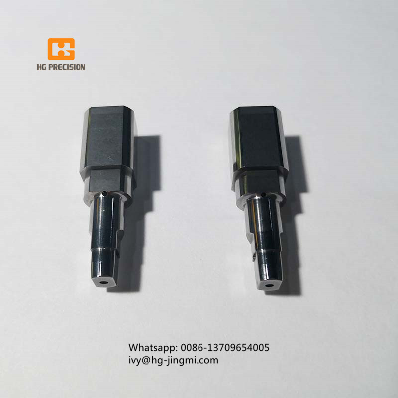 Carbide Punch With High Accuracy Side Hole And TiCN Coating