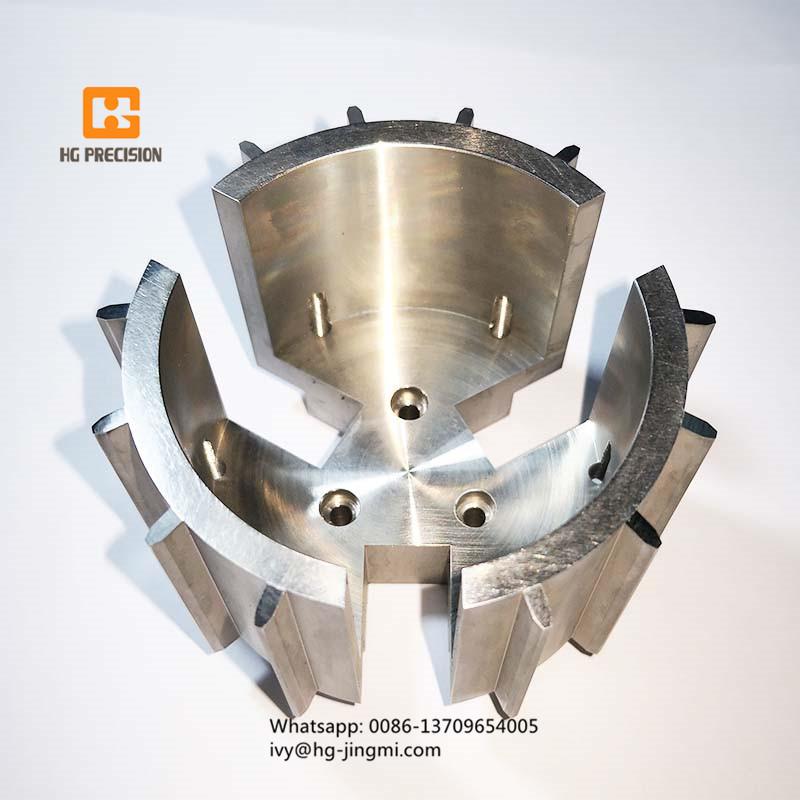 Complex Shape CNC Machinery Parts-HG