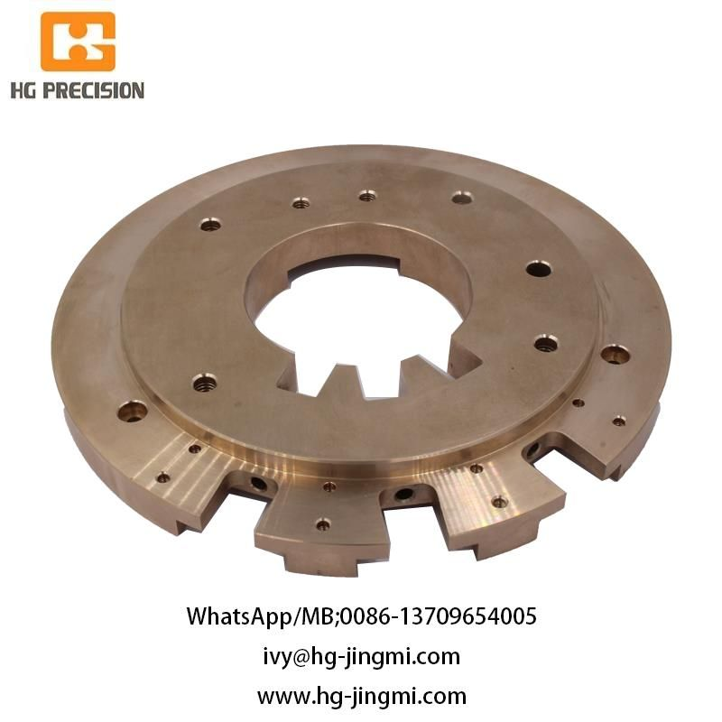 Precision CNC Machinery S45C Metal Plate-HG Precision