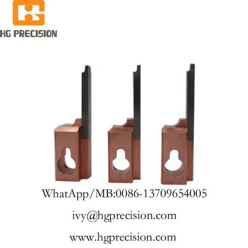 Carbide Insert Precision Electrode Parts