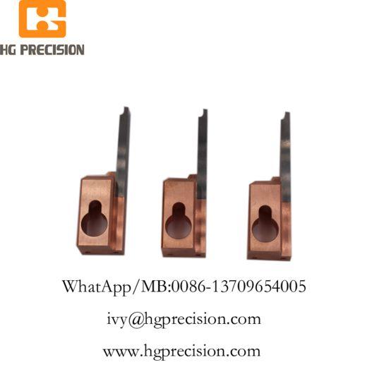 Carbide Insert Precision Electrode Parts-HG Precision