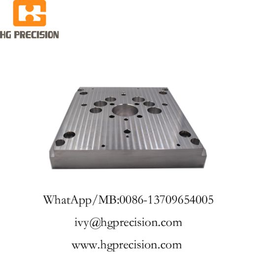 CNC Machinery Metal Plate-HG Precision