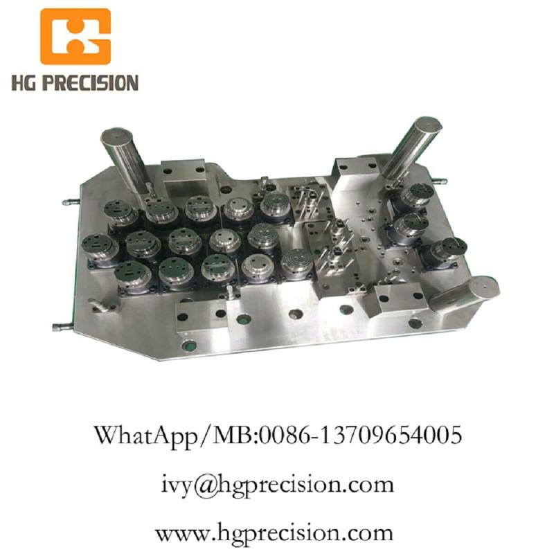 Easy Open End Tooling And Active Plate