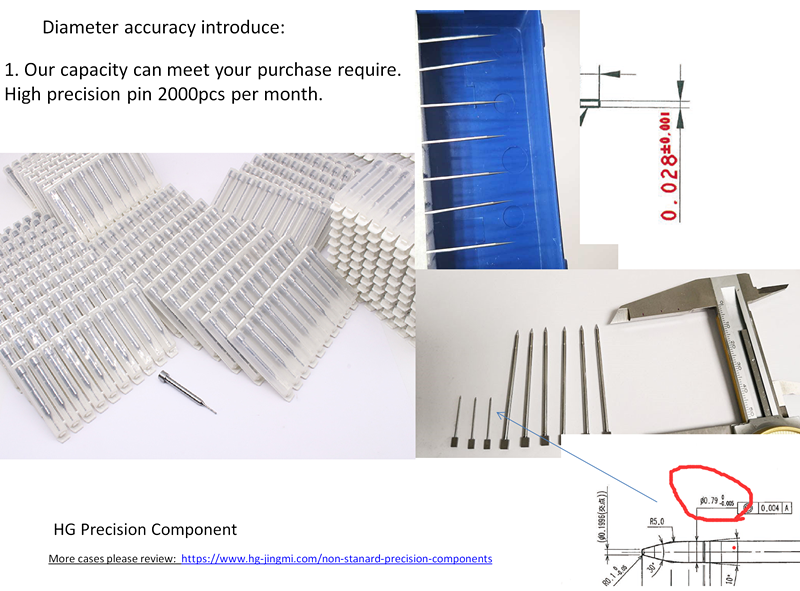 High Accuracy Hole And Pin With Micro Tolerance Case Analysis-HG Precision