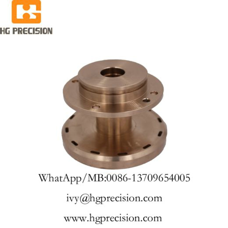 Precision CNC Machinery Copper Parts-HG Precision