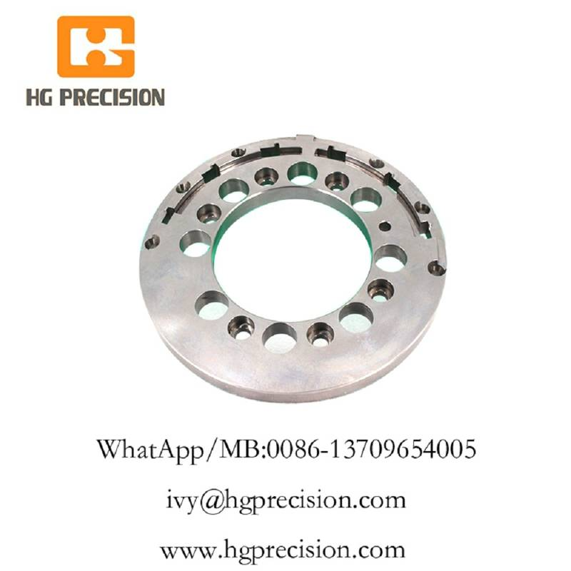 Precision CNC Machinery Plate With Buffing