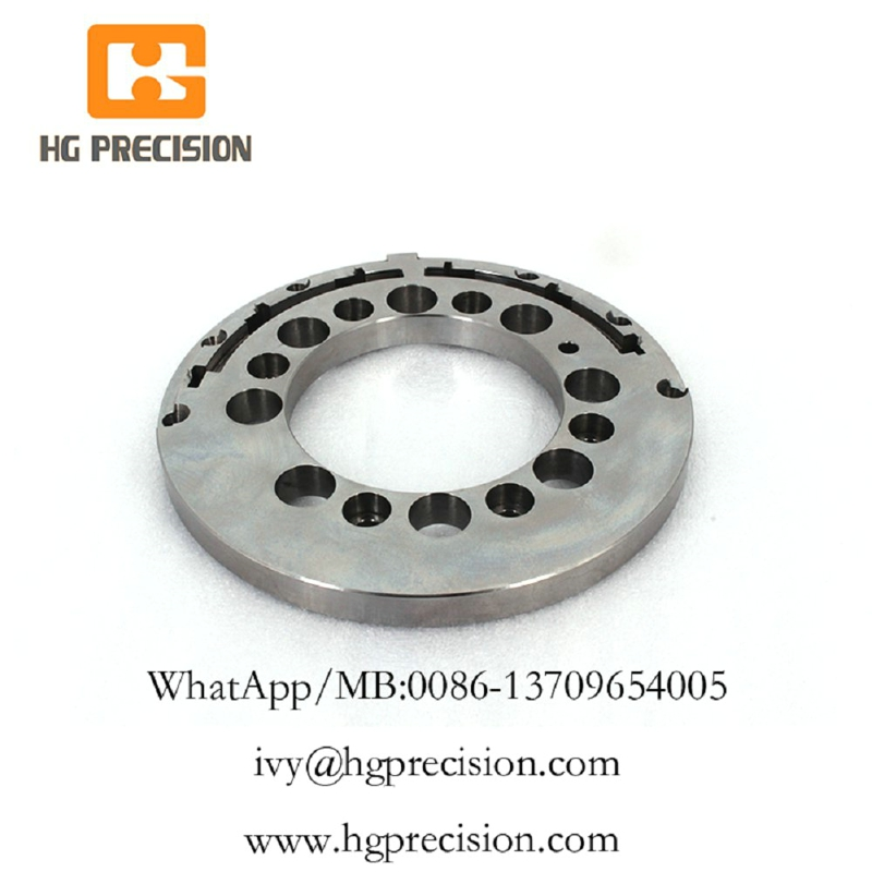 Precision CNC Machinery Plate With Buffing-HG Precision