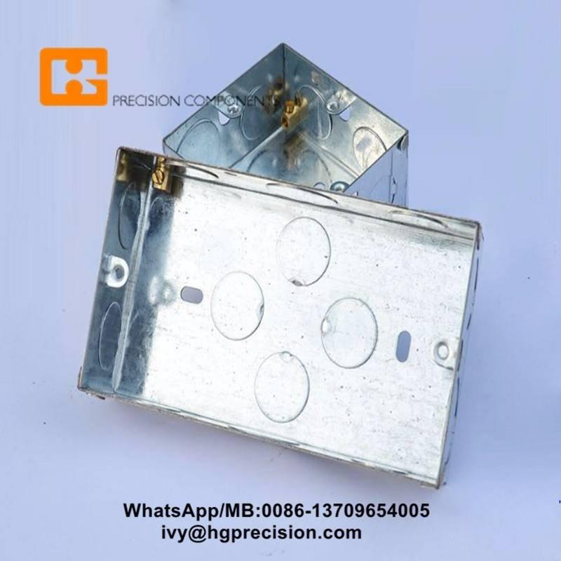 Progressive Die For UL 4 inch Electrical Octagonal Steel Box