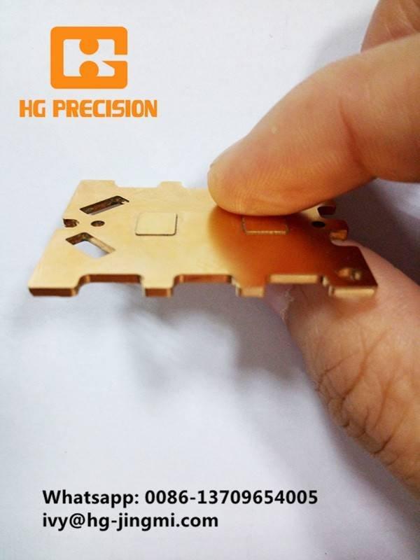 Copper Sheet Metal Component Parts