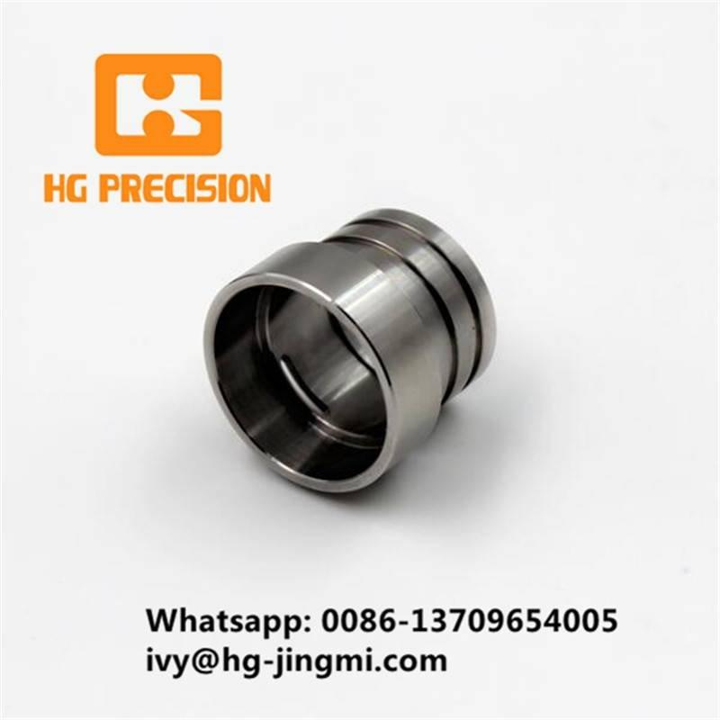 OEM Precision Steel Bushing CNC Machining